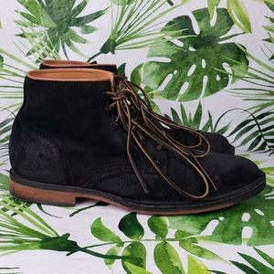- Cole Haan Weston lace-up captoe ankle boot…